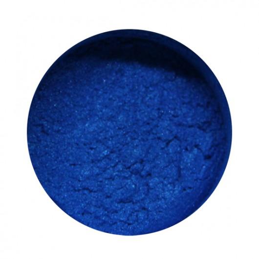 Пигмент перламутровый сухой Синий 10 г. (30 мл.)