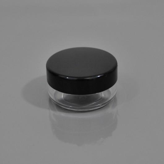 Баночка (пластиковая с черной крышкой) 3 мл