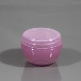 Баночка розовая 30 мл (пластик)