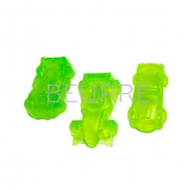Форма для мыла Гоночный автомобиль (3 ячейки, силиконовая)