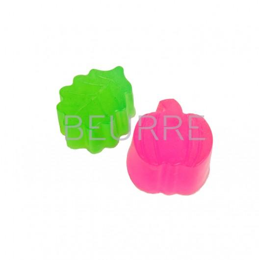 Форма для мыла Осенний набор (2 ячейки, силиконовая)