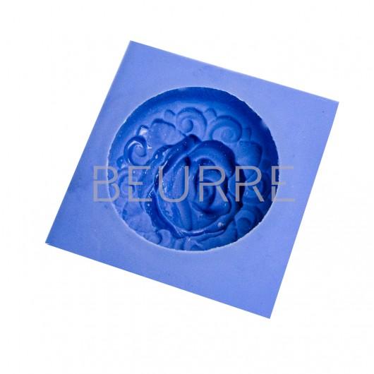 Форма для мыла Роза (силиконовая)