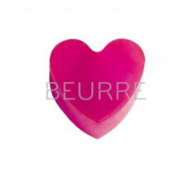 Форма для мыла Сердца (4 ячейки, силиконовая)