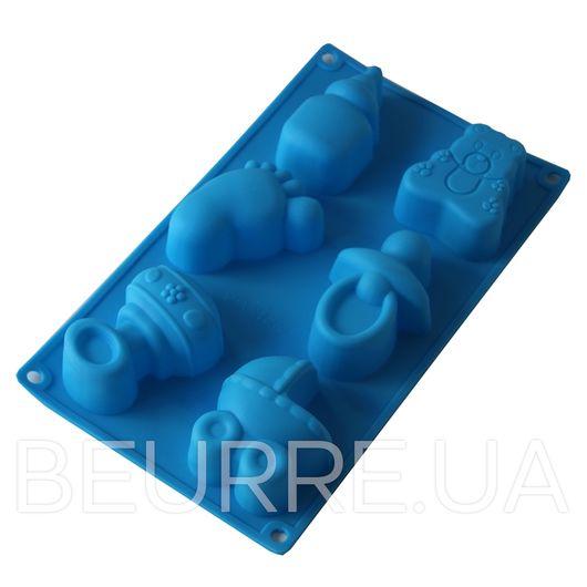 Форма для мыла Детский набор (6 ячеек)