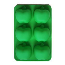 Форма для мыла Яблоки (3 ячейки, силиконовая)