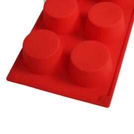 Форма для мыла Круги 3 шт. (силиконовая)