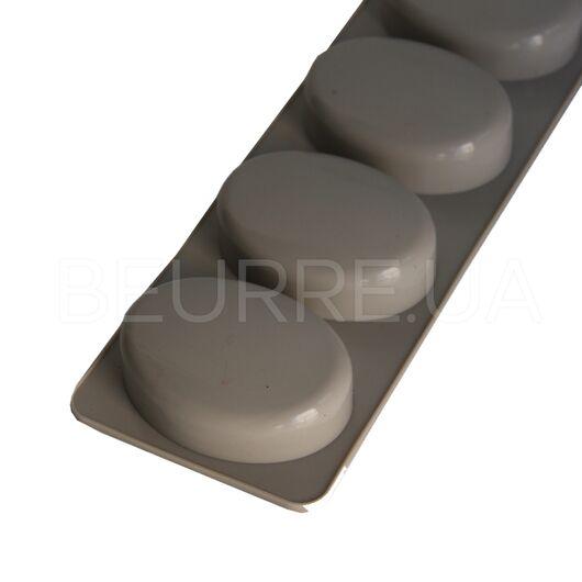 Форма для мыла Овал (4 ячейки, силиконовая)
