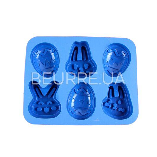 Форма для мыла Пасхальная (6 ячеек)