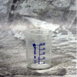 Мерный стакан лабораторный Vitlab 50 мл.