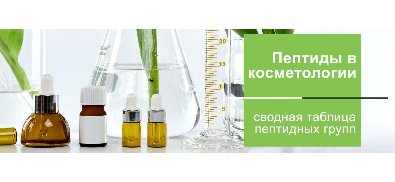 Пептиды в косметике: свойства и применение