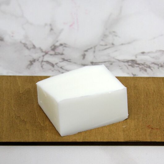 Основа для мыла белая White 60/40 0,5 кг.