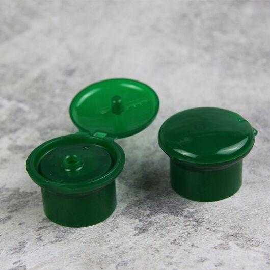 Флип-топ зеленый стандарта 28/410