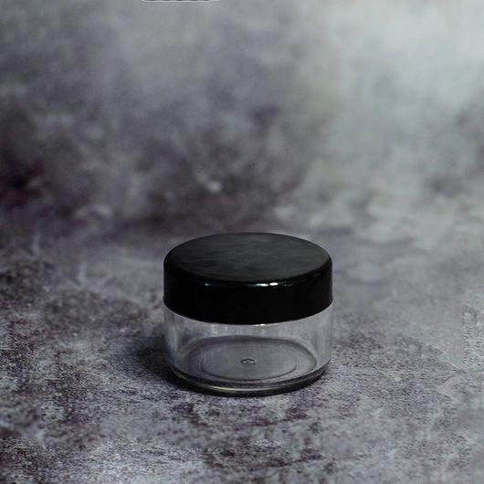 Баночка (пластиковая с черной крышкой) 10 мл