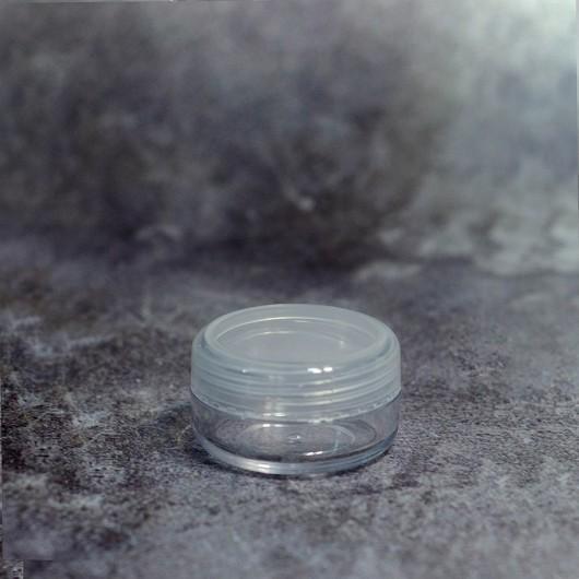 Баночка 5 мл (прозрачная, пластик)
