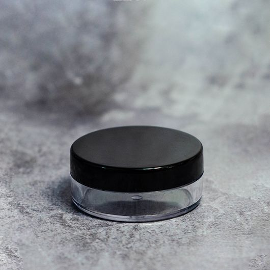 Баночка (пластиковая с черной крышкой) 15 мл