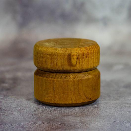 Баночка деревянная 25 мл.