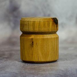 Баночка деревянная 50 мл.