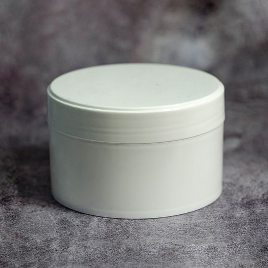Баночка 200 мл (белая, пластик)
