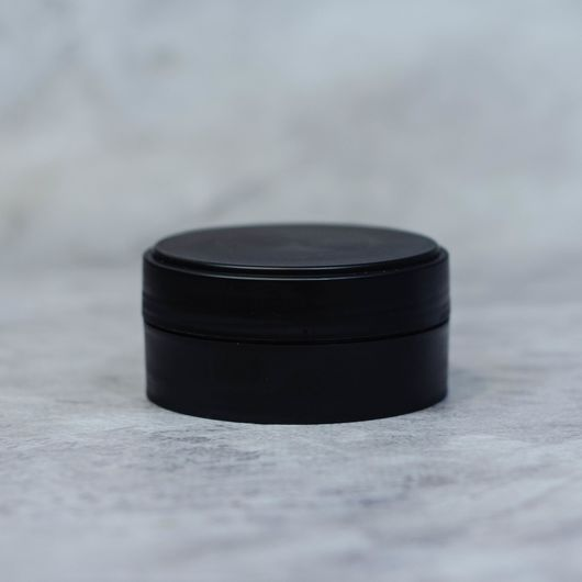 Баночка 50 мл (черная, пластик)