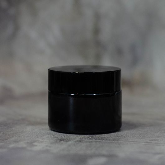 Баночка (коричневая, стекло) 50 мл