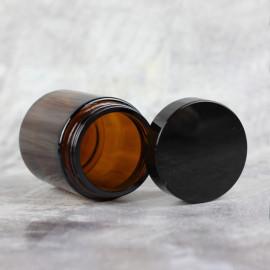 Баночка Клио 100 мл (коричневая, стекло)