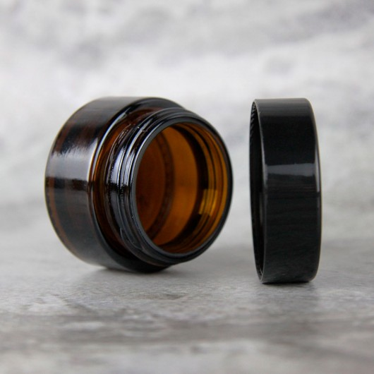 Баночка Клио 50 мл (коричневая, стекло)