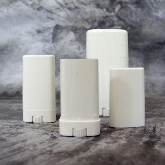 Флакон для дезодоранта (белый) 50 мл.