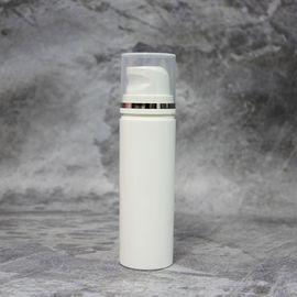 Вакуумный флакон белый/прозрачная крышка 50 мл