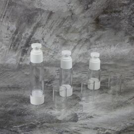 Вакуумный флакон Гант (белый) 15 мл.