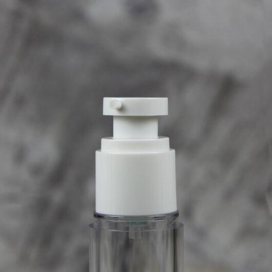 Вакуумный флакон Гант (белый) 100 мл.