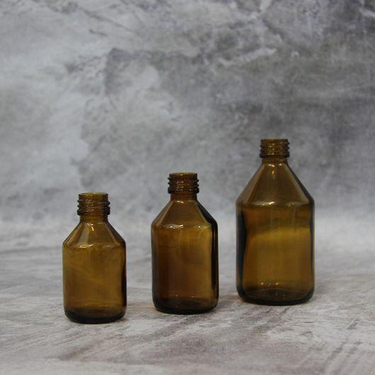 Флакон (коричневый, стекло) 30 мл стандарта 20/410