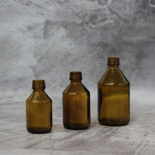 Флакон Рея 100 мл (коричневый, стекло)