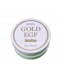 Патчи для глаз гидрогелевые с коллоидным золотом и эпидермальным фактором роста (60 шт.)