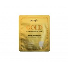 Маска для лица гидрогелевая Petitfee с коллоидным золотом Firming Solution