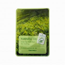 Маска для лица тканевая Tony Moly с экстрактом зеленого чая Green Tea Mask Sheet