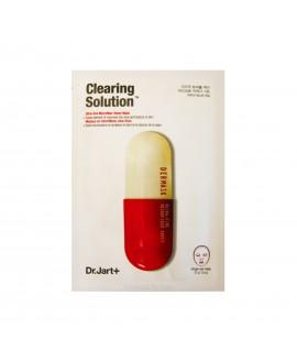 Маска для лица тканевая Dr.Jart очищающая с салициловой кислотой Clearing Solution