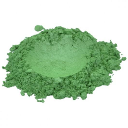 Мика зеленая soft green 2 г.