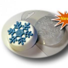 Форма для мыла Первая снежинка (пластик)