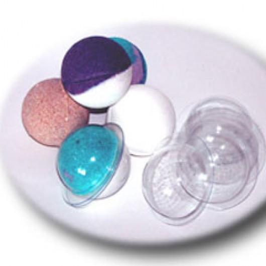Форма для бомбочек Сфера (пластик)