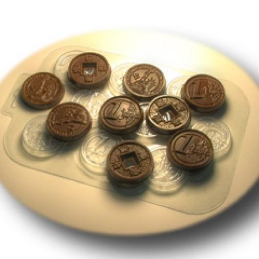 Форма для шоколада Денежный поток (пластик)