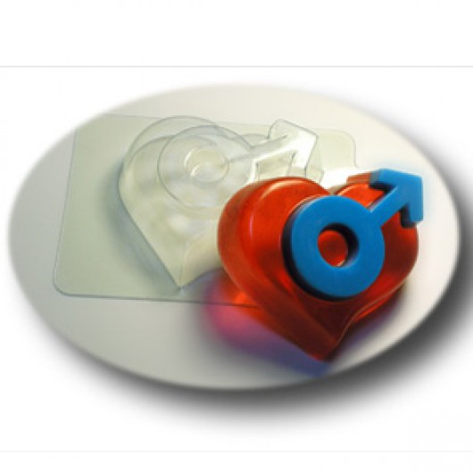 Форма для мыла Мужское начало (пластик)