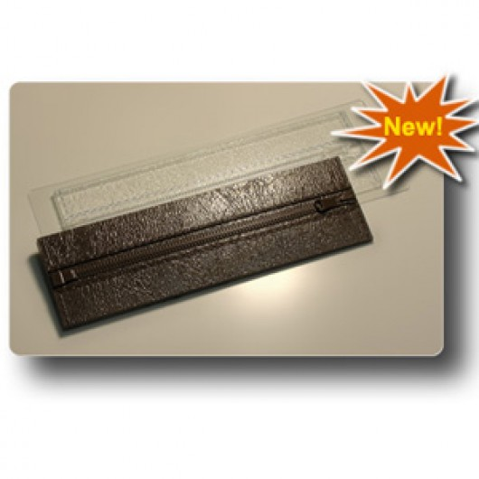 Форма для шоколада Шоколад на молнии (пластик)