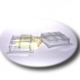Форма для мыла Шоколадка (пластик)