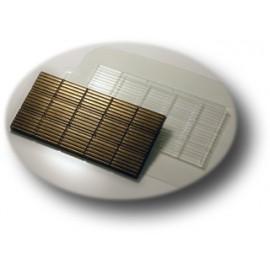 Форма для шоколада Полосатик (пластик)