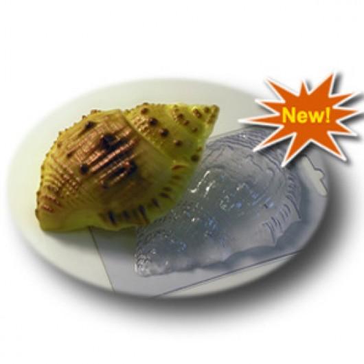 Форма для мыла Морская ракушка большая (пластик)