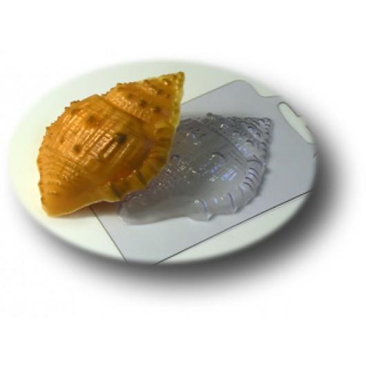Форма для мыла Морская ракушка малая (пластик)